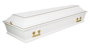 Гроб Б-4 Белый (Арт: ФС-4Б) Городская Похоронная Служба РИТУАЛ https://gps-ritual.ru/