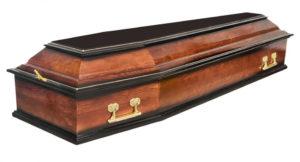 Гроб Б-6 Темный (Арт: ФС-6) Городская Похоронная Служба РИТУАЛ https://gps-ritual.ru/
